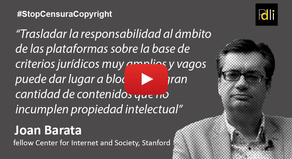 JOAN BARATA, abogado [VÍDEO]