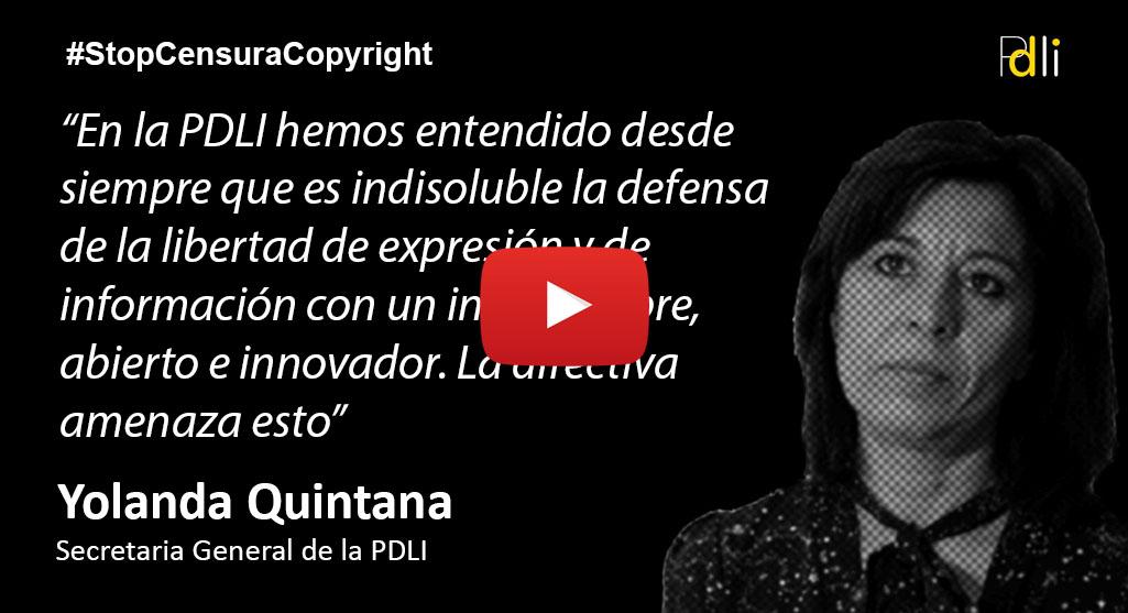YOLANDA QUINTANA, periodista [VÍDEO]