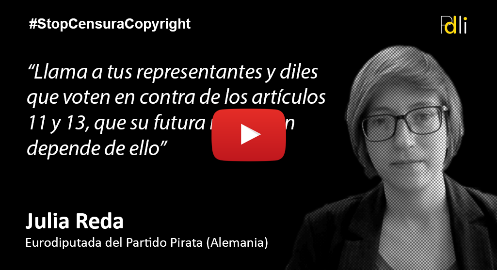 Julia Reda, Eurodiputada del Partido Pirata [VIDEO]
