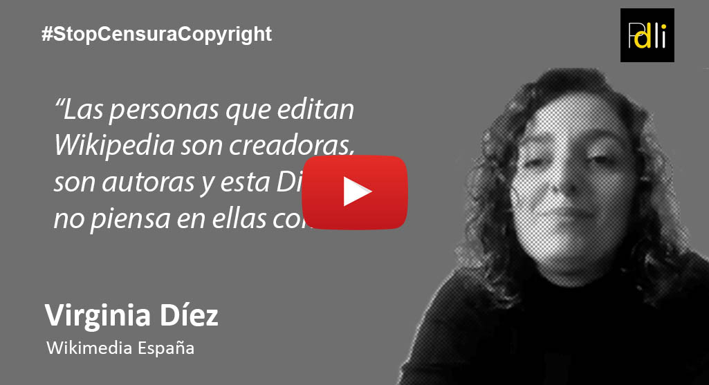 Virginia Díez, Wikimedia España [VÍDEO]