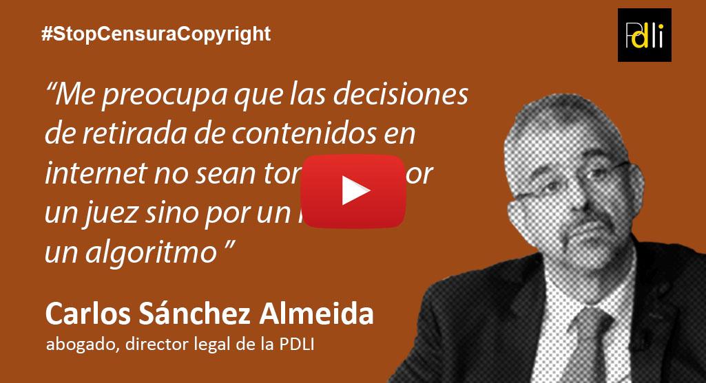 CARLOS SÁNCHEZ ALMEIDA, abogado [VÍDEO]