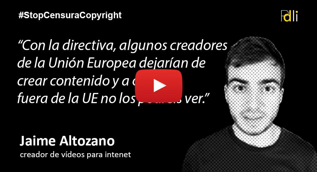 JAIME ALTOZANO, creador de vídeos para internet [VÍDEO]