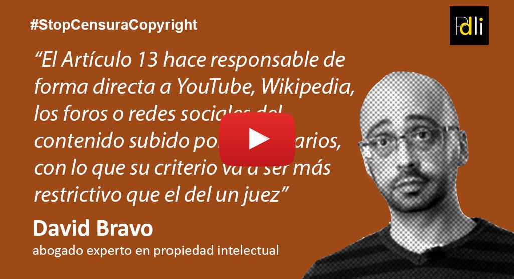 DAVID BRAVO, abogado [VÍDEO]