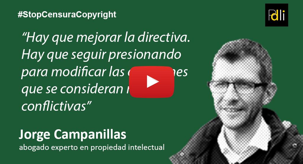JORGE CAMPANILLAS, abogado [VÍDEO]