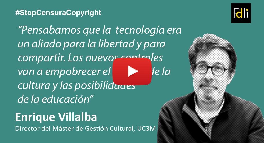 ENRIQUE VILLALBA, profesor universitario [VÍDEO]