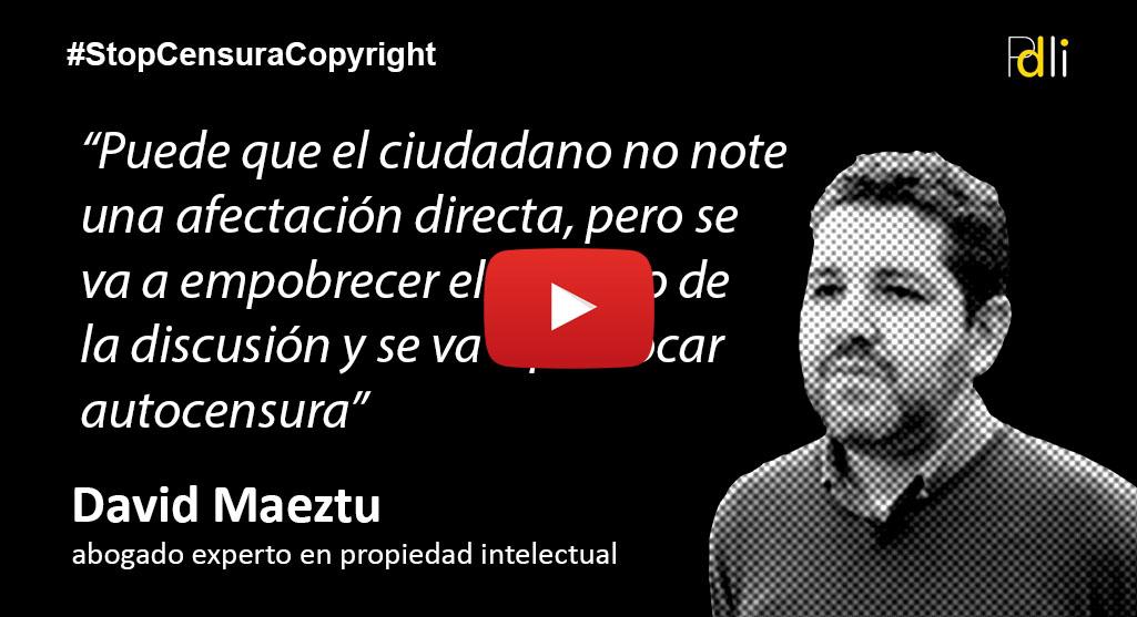 DAVID MAEZTU, abogado [VÍDEO]