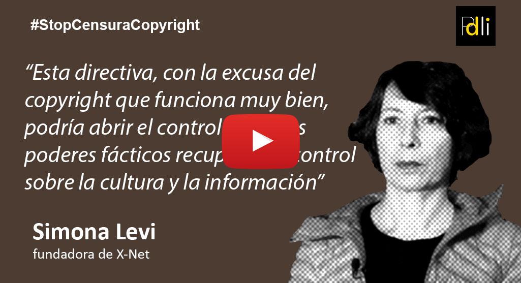 SIMONA LEVY, X-Net [VÍDEO]