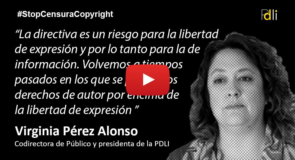 VIRGINIA PÉREZ ALONSO, periodista [VÍDEO]