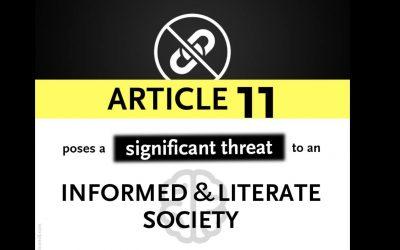 Editoriales de prensa, noticias falsas y directivas de copyright (artículo de Carlos Sánchez Almeida)